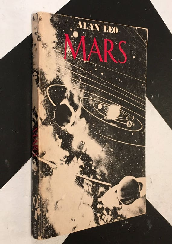 Mars: The War Lord by Leo Alan vintage black white esoteric occult paperback (Softcover, 1970)