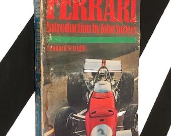 Ferrari by Leonard Setright (1971) softcover book