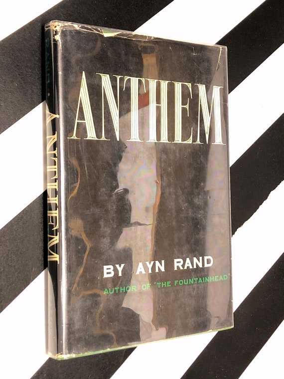 Anthem by Ayn Rand (1946) hardcover book