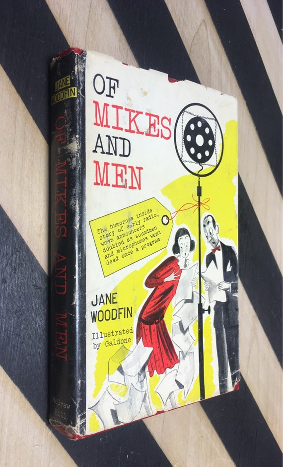 Of Mikes and Men by Jane Woodfin; Illustrated by Galdone (Hardcover, 1951) vintage book