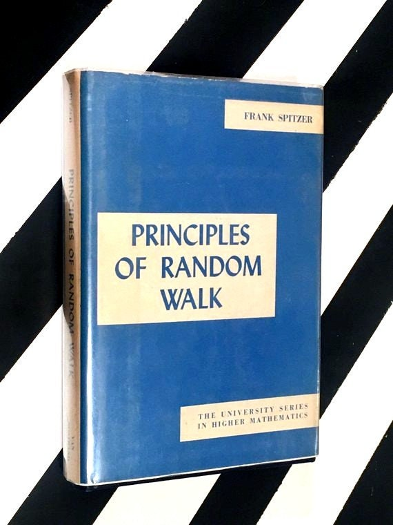 Principles of Random Walk by Frank Spitzer (1964) hardcover book