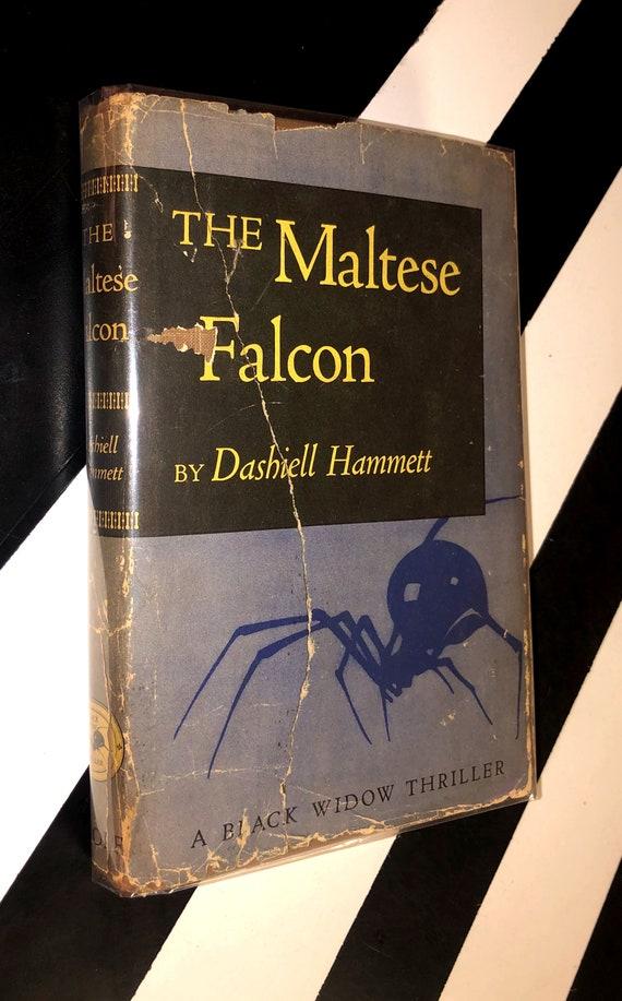 The Maltese Falcon by Dashiell Hammett (1945) hardcover book