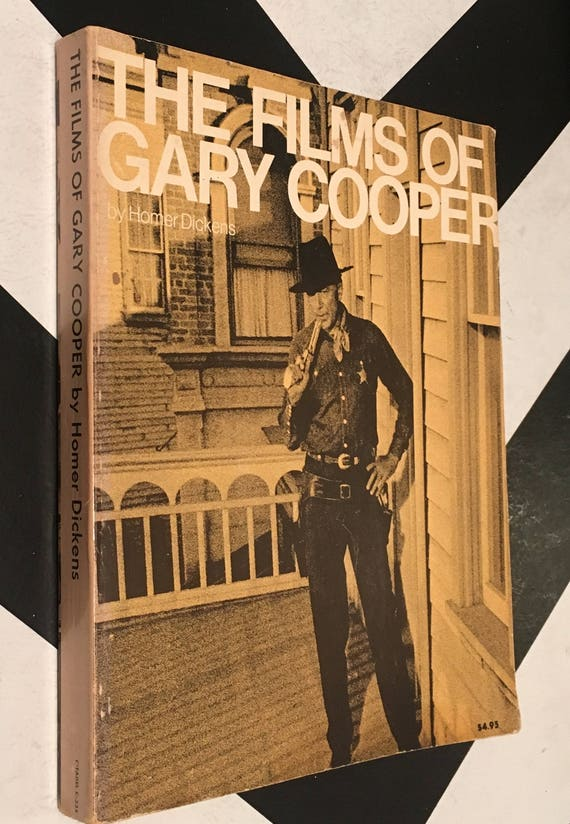 The Films of Gary Cooper by Homer Dickens (Softcover, 1973) vintage book