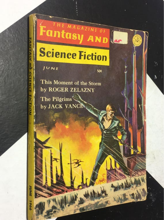 The Magazine of Fantasy and Science Fiction June, 1966 (Softcover) vintage
