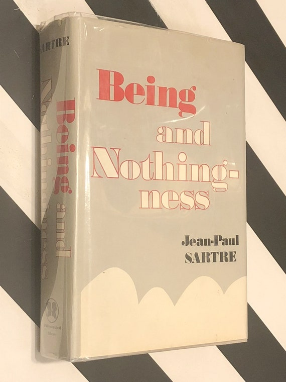 Being and Nothingness by Jean-Paul Sartre (1953) hardcover book