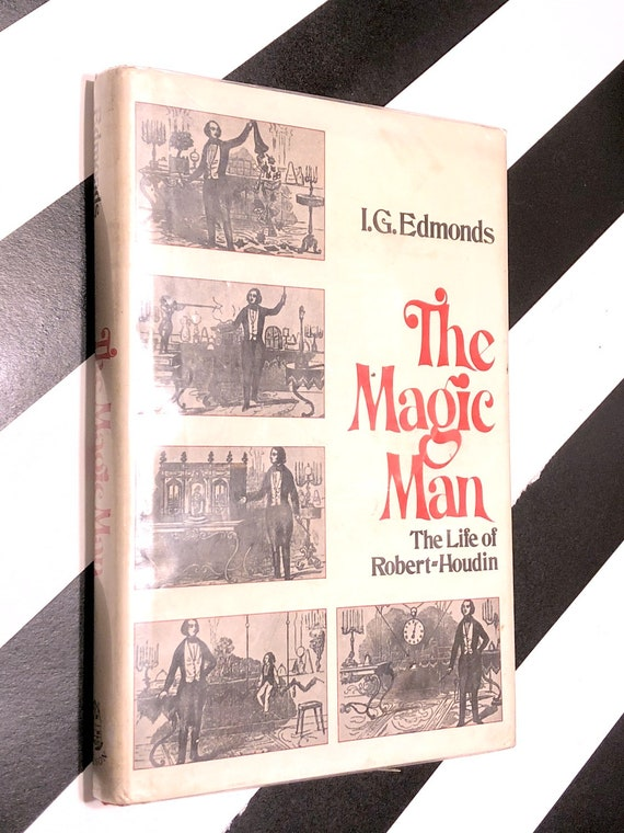 The Magic Man by I.G. Edwards (1972) hardcover book