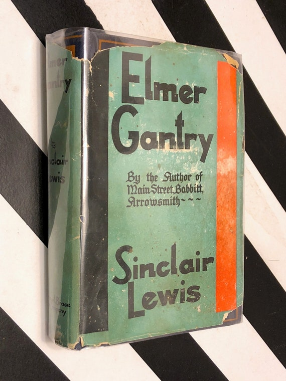 Elmer Gantry by Sinclair Lewis (1927) first edition book