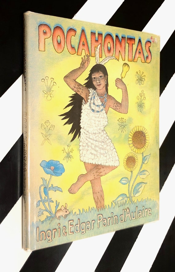 Pocahontas by Ingri and Edgar Parin D'Aulaire (1946) hardcover book