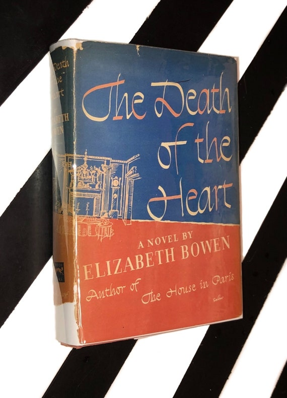 The Death of the Heart: A Novel by Elizabeth Bowen (1948) hardcover book