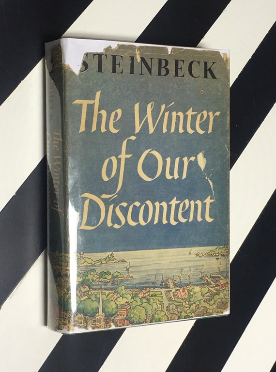 The Winter of Our Discontent by John Steinbeck (1961) hardcover first edition book