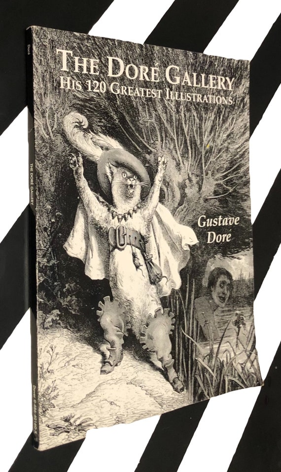 The Dore Gallery: His 120 Illustrations edited by Carol Belanger Grafton (1998) softcover book