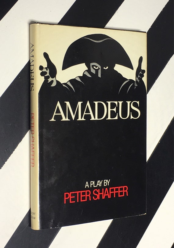 Amadeus: A Play by Peter Shaffer (1981) hardcover book