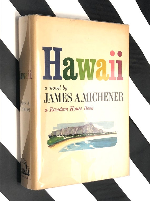 Hawaii by James Michener (1959) first edition book