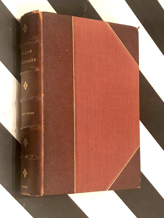 The Complete Works of Shakespeare (1926) hardcover book