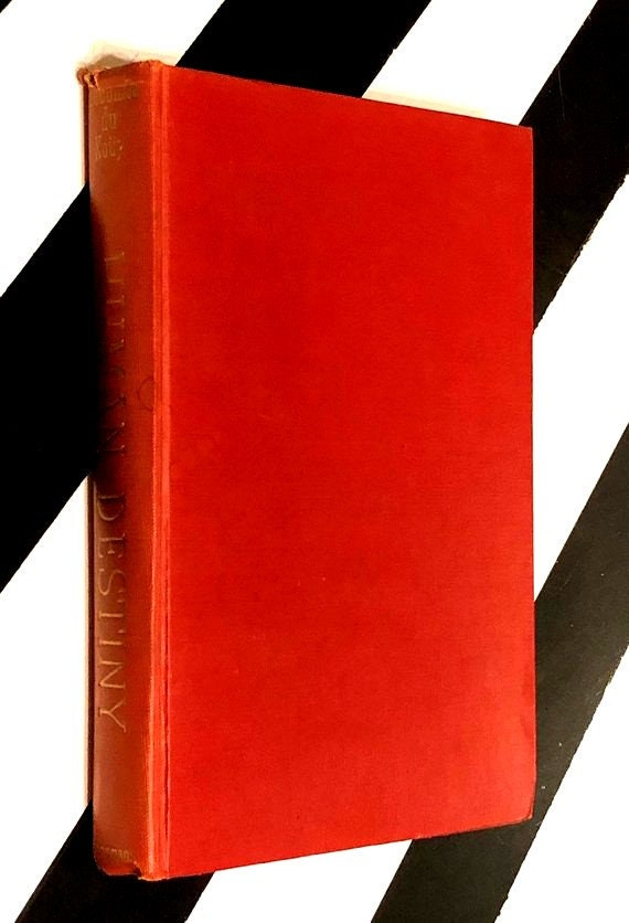 Human Destiny by Lecomte du Nouy (1947) hardcover book