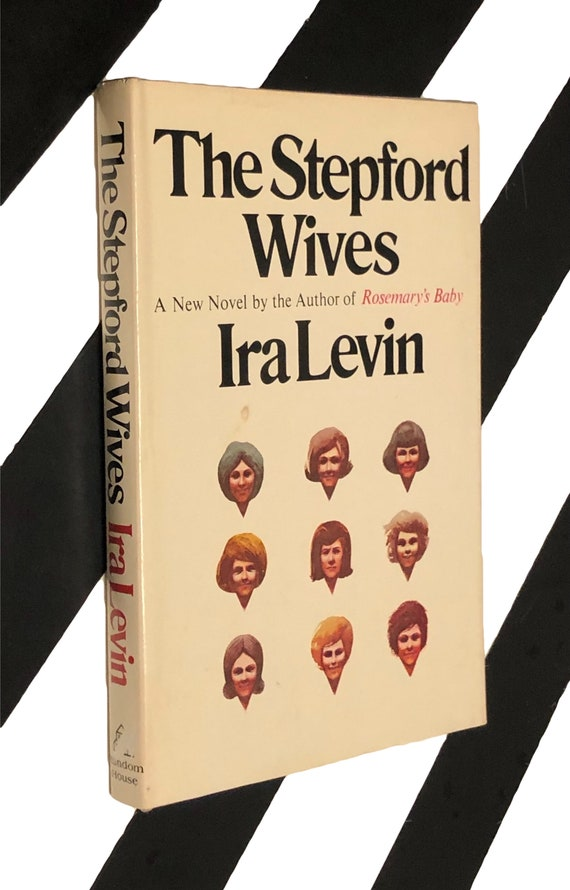 The Stepford Wives by Ira Levin (1972) hardcover book
