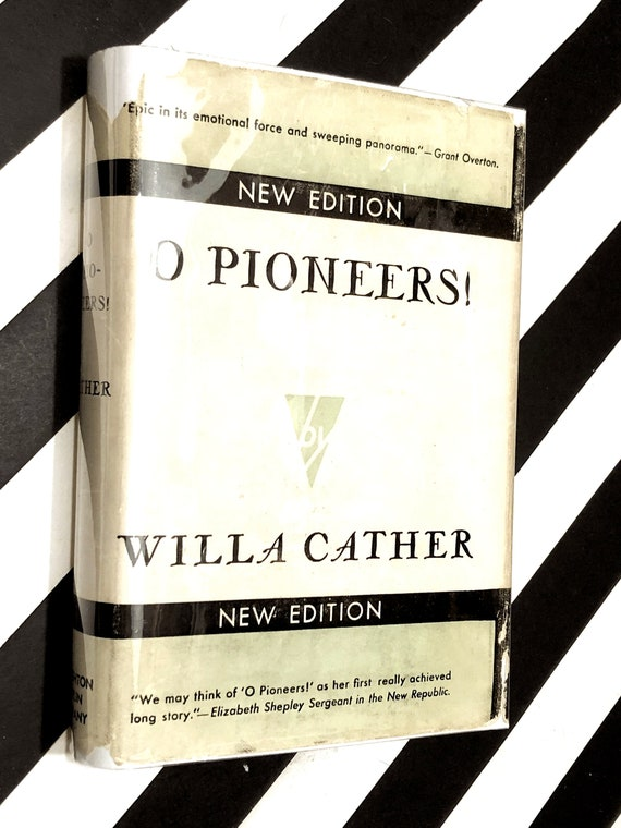 O Pioneers! by Willa Cather (1941) hardcover book