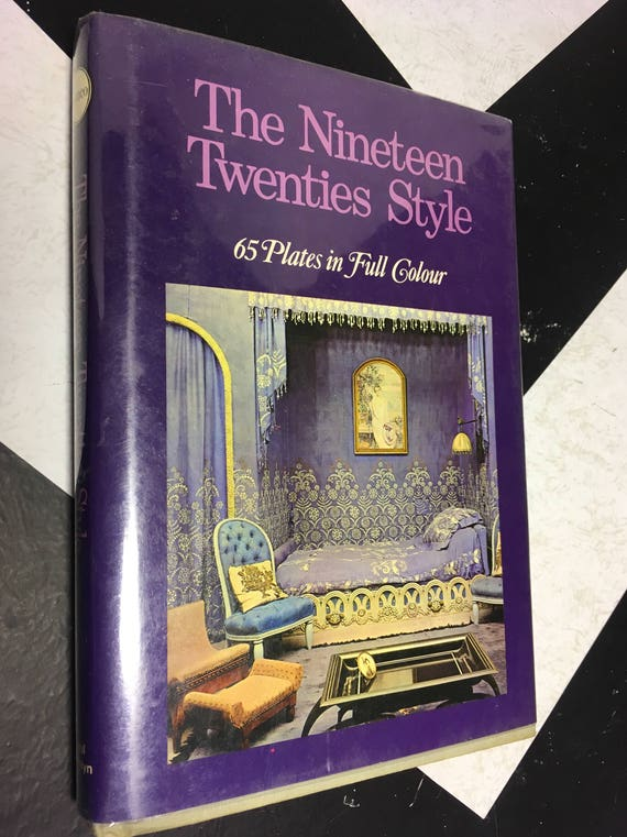 The Nineteen Twenties Style: 65 Plates in Full Color by Yvonne Brunhammer (Hardcover, 1966)