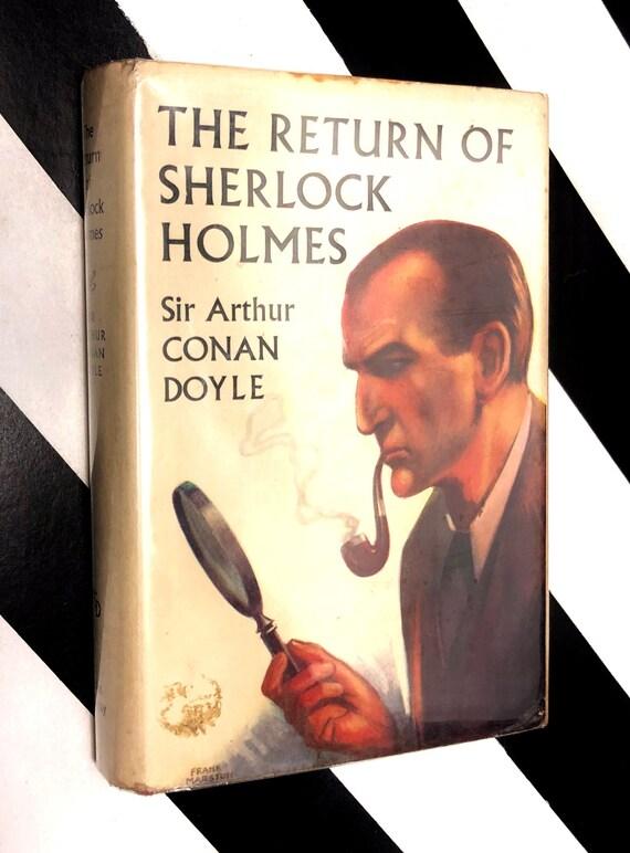 The Return of Sherlock Holmes by Sir Arthur Conan Doyle (1962) hardcover book