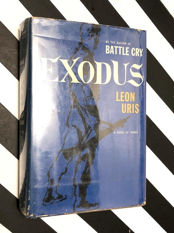 Exodus by Leon Uris (1958) hardcover book