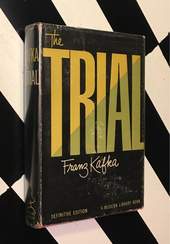 The Trial by Franz Kafka - Definitive Edition (1956) Modern Library hardcover book