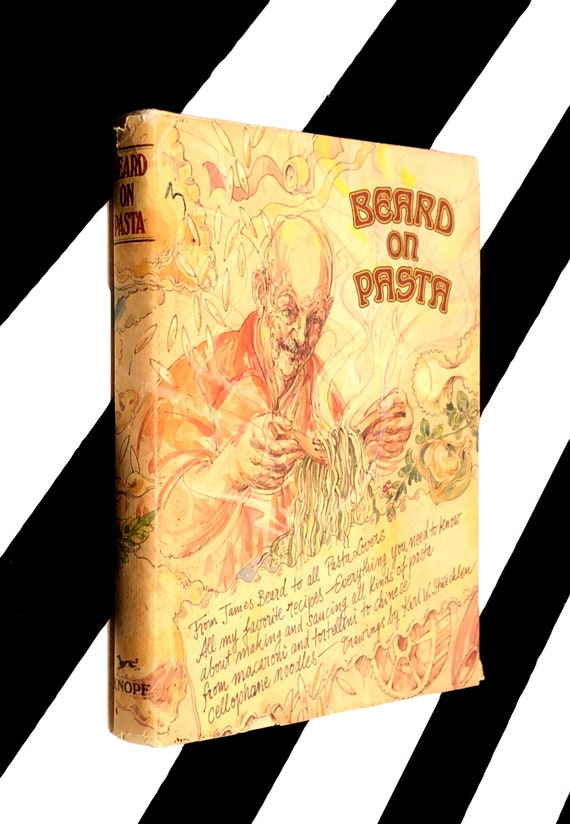 Beard on Pasta by James Beard (1983) hardcover book