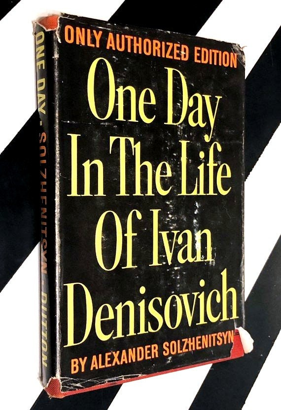 One Day in the Life of Ivan Denisovich by Alexander Solzhenitsyn (1963) hardcover book