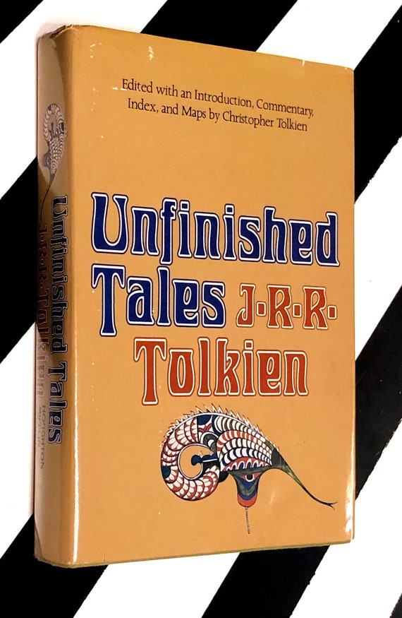 Unfinished Tales of Numenor and Middle-earth by J. R. R. Tolkien (1980) hardcover first edition book