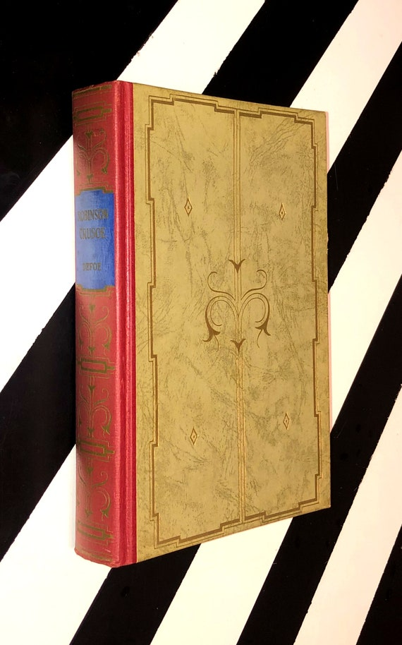 Robinson Crusoe by Daniel Defoe (no date) hardcover book