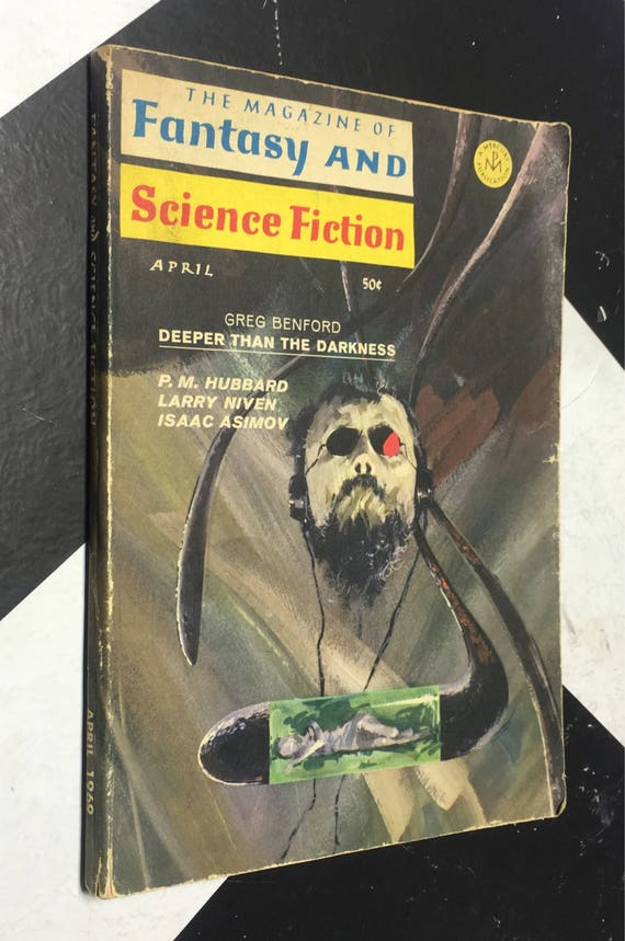 The Magazine of Fantasy and Science Fiction: April, 1969 (Softcover) vintage