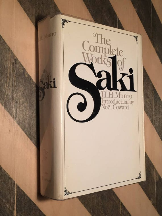 The Complete Works of Saki (1976) harcover book