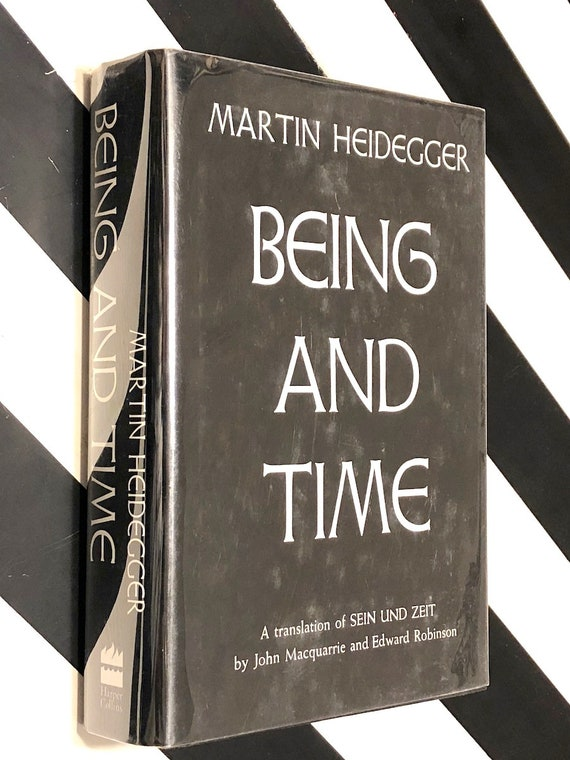 Being and Time by Martin Heidegger (1962) hardcover book