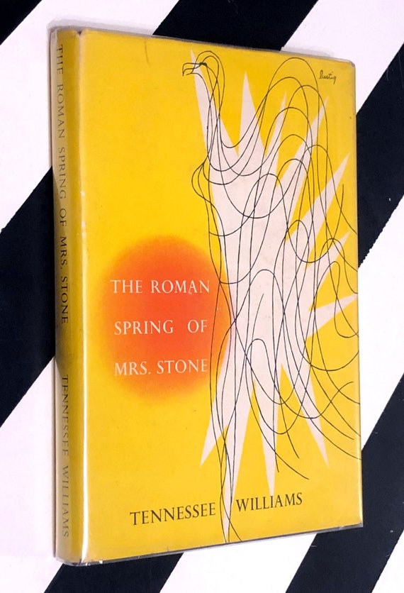 The Roman Spring of Mrs. Stone by Tennessee Williams (1950) hardcover book
