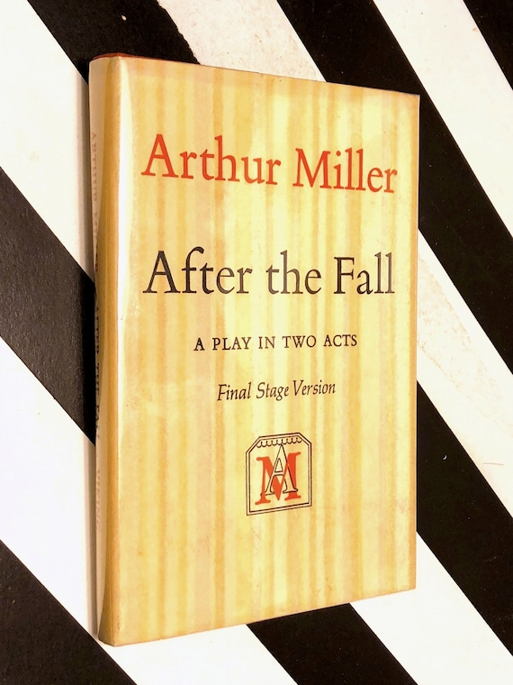 After the Fall by Arthur Miller (1964) hardcover book