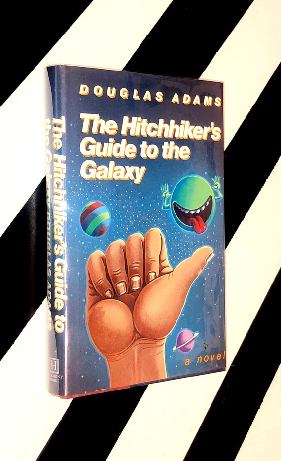 The Hitchhiker's Guide to the Galaxy by Douglas Adams (1979) first edition book