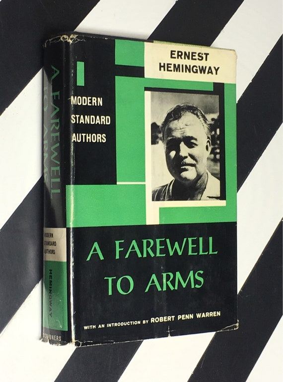 A Farewell to Arms by Ernest Hemingway With and Introduction by Robert Penn Warren (1962) hardcover book