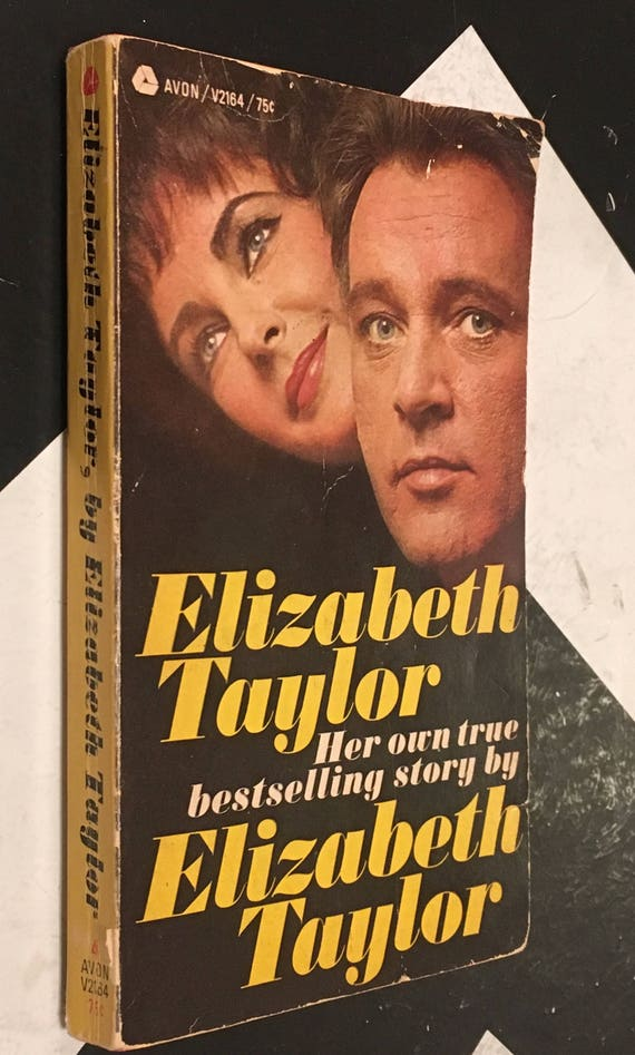 Elizabeth Taylor: Her Own True Bestselling Story by Elizabeth Taylor vintage pulp biography celebrity autobiography book (Softcover, 1967)