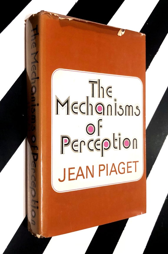 The Mechanisms of Perception by Jean Piaget (1969) hardcover book