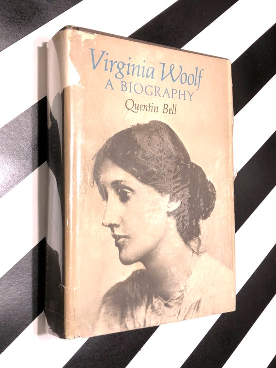 Virginia Woolf, A Biography by Quentin Bell (1972) hardcover book