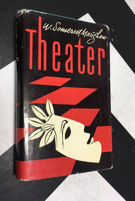 Theater by W. Somerset Maugham vintage german language novel (Hardcover, 1943)