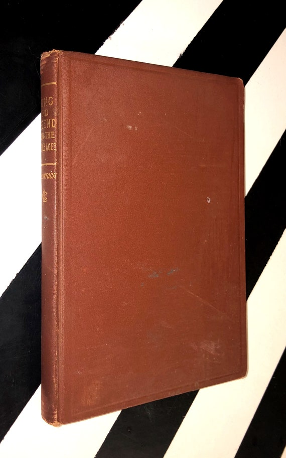 Song and Legend from the Middle Ages by William D. McClintock and Porter Lander McClintock (1893) hardcover book