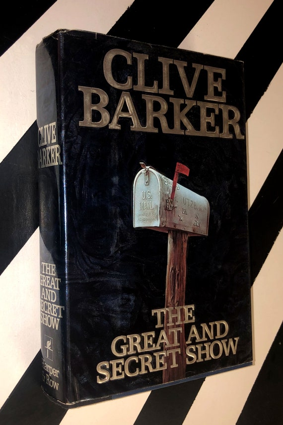 The Great and Secret Show by Clive Barker (1989) first edition book