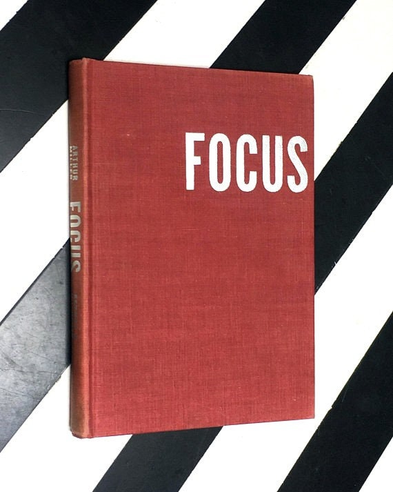 Focus by Arthur Miller (1945) hardcover book