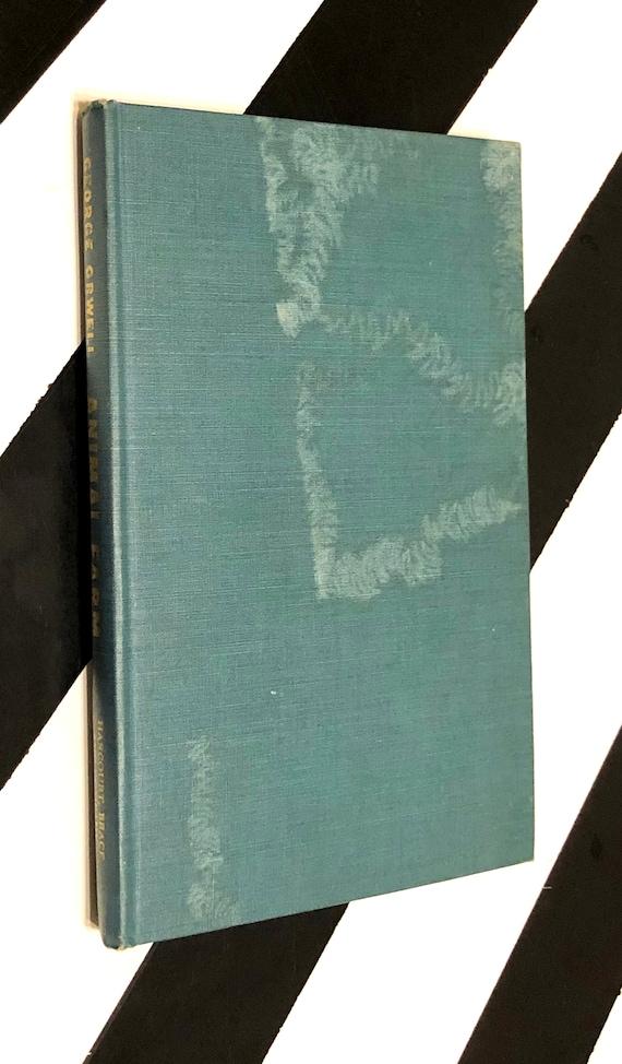 Animal Farm by George Orwell (1946) hardcover book
