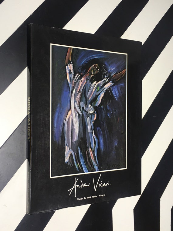 Andrew Vicari 20 Septembre - 14 Octobre 1984 (1984) softcover signed book