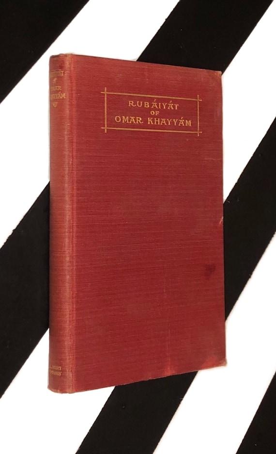 Rubaiyat of Omar Khayyam Rendered into English Verse by Edward Fitzgerald with Illustrations by J. Watson Davis (undated) hardcover book