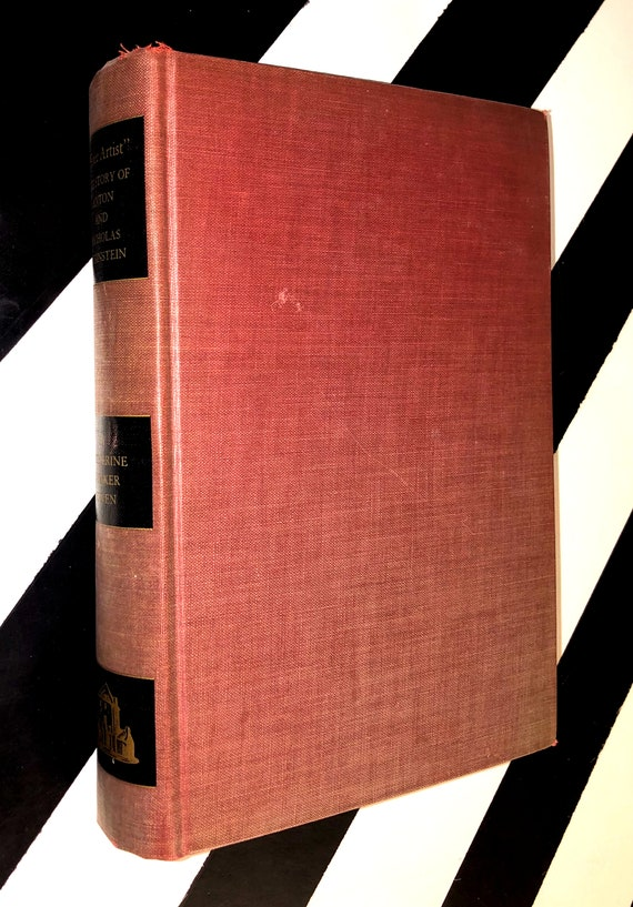Free Artist: The Story of Anton and Nicholas Rubinstein by Catherine Drinker Bowen (1939) hardcover first edition book