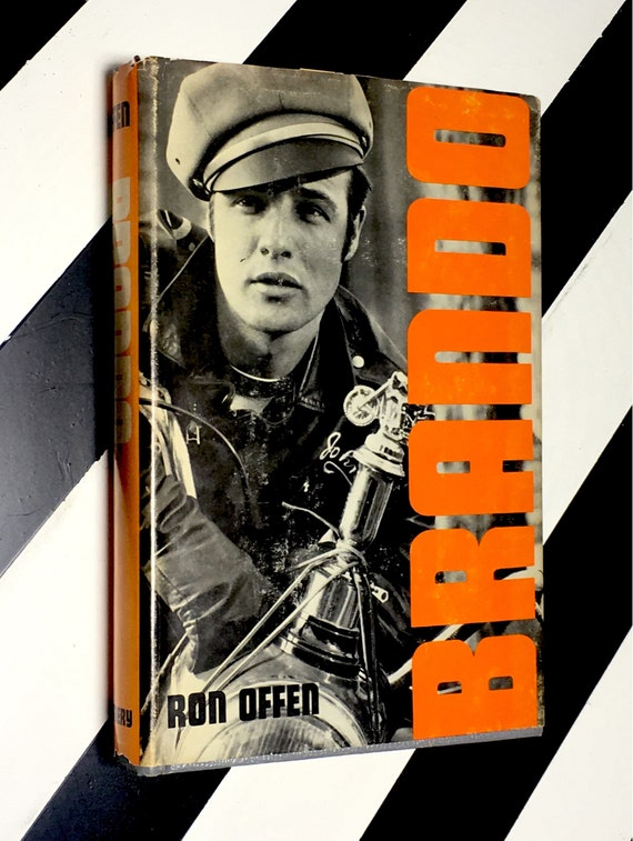 Brando by Ron Offen (1973) hardcover book