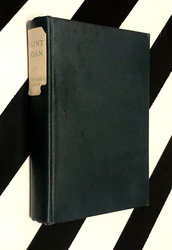 Saint Joan by Bernard Shaw (1925) hardcover book