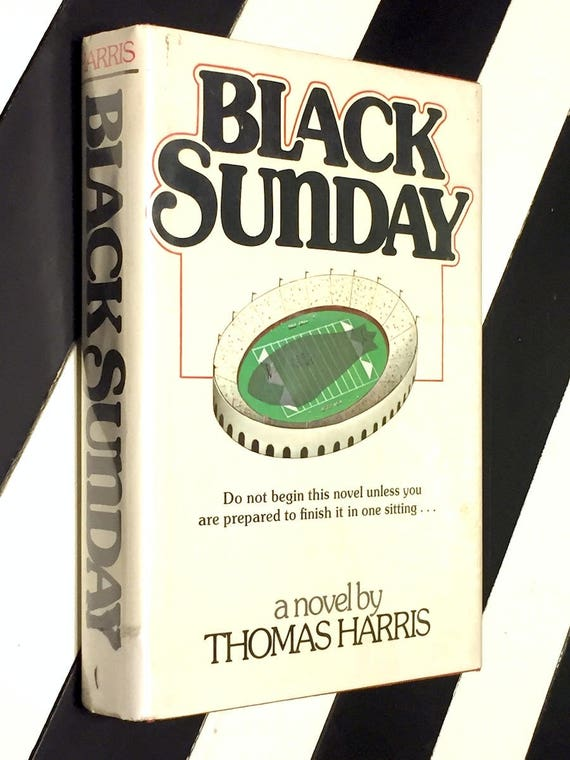 Black Sunday by Thomas Harris (1975) first edition book